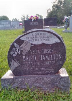 Velta <I>Gibson</I> Baird Hamilton