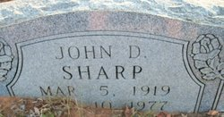 John Daniel Sharp