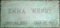 Emma Wendt