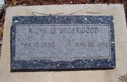 Ricky Wayne Underwood