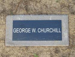 """Gersham W. """"George"""" Churchill"""