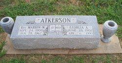 Georgia Ann <I>Valyer</I> Atkerson