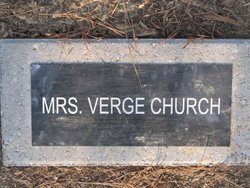 Mrs Verge Church