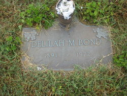 Delilah May <I>Marshall</I> Bond