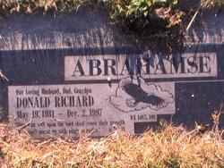 Donald Richard Abrahamse