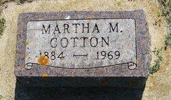Martha Mae <I>Westrum</I> Cotton