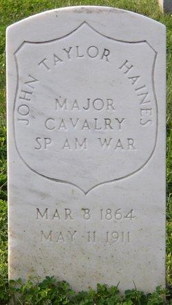 Maj John Taylor Haines