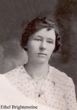 Ethel Gladys <I>Brightenstine</I> White
