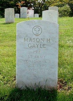 Mason H Gayle