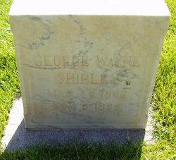 George Wayne Shipley