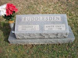 """Mary Maude """"Maude"""" <I>Enoch</I> Ruddlesden"""