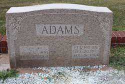 Bethia Nancy Elizabeth <I>Akins</I> Adams