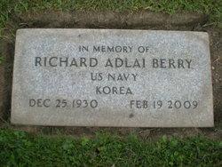 """Richard Adlai """"Dick"""" Berry"""