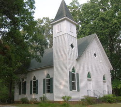Shiloh Church Cemetery Old