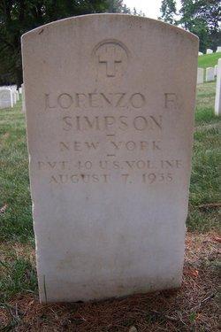 Lorenzo F Simpson