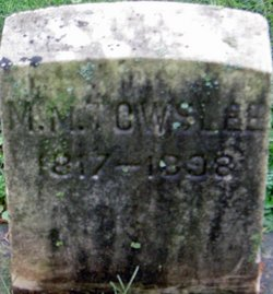 Margaret M Towslee