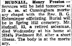 Henry Preston Hudnall