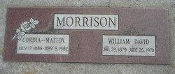 Cordia Mattox Morrison