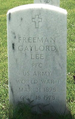 Freeman Gaylord Lee