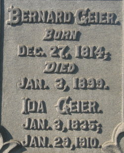 Ida <I>Barber</I> Geier