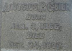 Aloysius P Geier