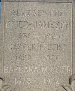 Casper F Geier