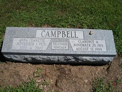 Anna Jeanette <I>Smith</I> Campbell