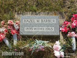 Hazel M Barber