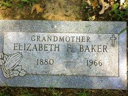 """Elizabeth F """"Lizzie"""" <I>Taylor</I> Baker"""