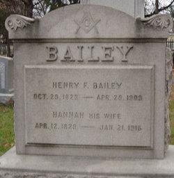 Henry F Bailey