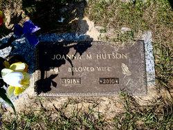 Joanna M. <I>Nickerson</I> Hutson