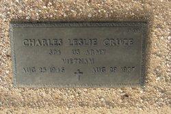 Charles L Cruze