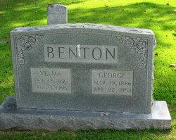 Velma <I>Clark</I> Benton