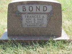 Frances Anne <I>Johnson</I> Bond
