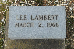 Lee Lambert