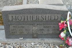 Mary Ann <I>Odom</I> Mothershed