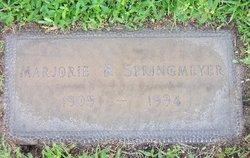 Marjorie <I>Boester</I> Springmeyer