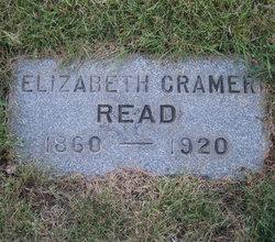 Elizabeth <I>Cramer</I> Read