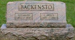 Elizabeth <I>Edmonds</I> Backensto