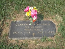 Clarence E Billings