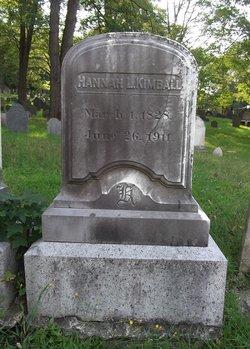 Hannah Lord Kimball