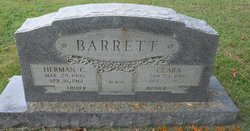 Clara <I>Brooks</I> Barrett
