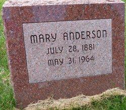 Mary <I>Petersen</I> Anderson