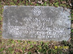 Unknown CSA Soldier