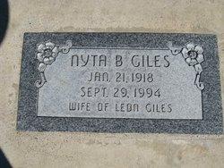 Nyta <I>Black</I> Giles