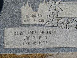 Eliza Jane <I>Sanford</I> Giles