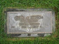 Sgt Dean Elmer Simpson