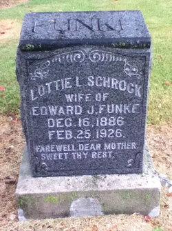 "Charlotte Lee ""Lottie"" <I>Schrock</I> Funke"
