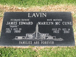 "James Edward ""Poppy"" Lavin"