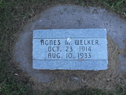 Agnes M Welker